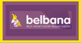 BELBANA FRUIT EXPORT FROM BELGIUM